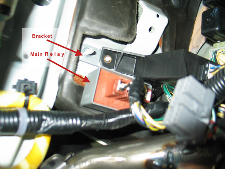 Main Relay on a 93 Honda Accord
